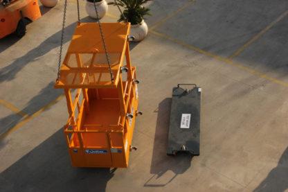 Rescue crane Man basket