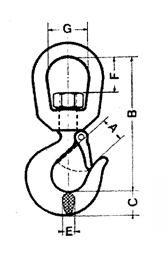 Lifting hook type C