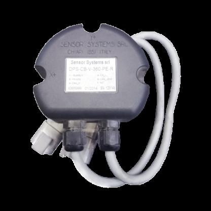 Angle sensor for fixed or mobile crane arm