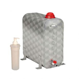 Stainless steel water tank 25 Liters for trucks